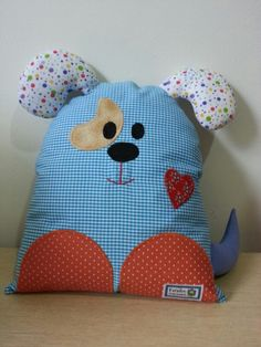 fabric toys Sewing Pillows Animals Fabrics 19 Ideas For 2019 Sewing Toys, Baby Sewing, Sewing Crafts, Sewing Projects For Kids, Sewing For Kids, Sewing Ideas, Kids Pillows, Animal Pillows, Baby Pillows