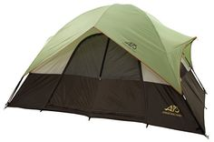 ALPS Mountaineering Meramac Two Room Tent  Fiberglass Poles and Oxford Floor 10 x 12Feet *** Click on the image for additional details.