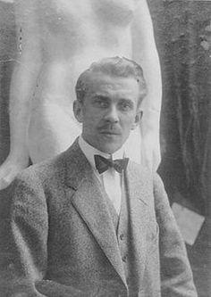 "Viktor ""Faffan"" Jansson (March 1, 1886 - June 22, 1958), Finnish sculptor. He was author Tove Jansson's father."