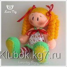 Кукла в полосатых чулках | Клубок