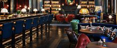 Take a look at the awesome new Scarfes Bar at the Rosewood Hotel London.