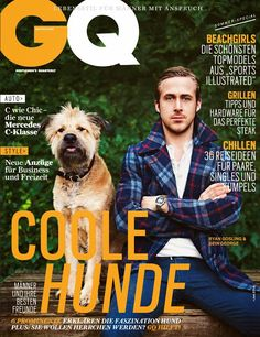 Ryan Gosling for GQ Germany June 2014 - Cover Gq Magazine Covers, Love Magazine, Magazine Cover Design, Ryan Gosling, Magazine Subscriptions For Men, Sports Illustrated, Cover Male, Cover Guy, Celebrity Magazines