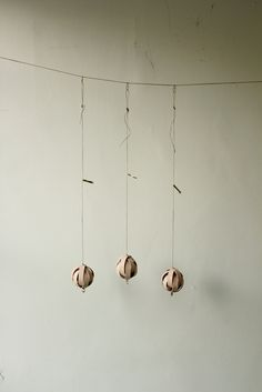 Vegetable Tanned Leather Ball Ornament - IRRE