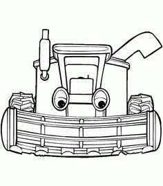 Tractor Tom Coloring Pages For Kids. Print and Color the Pictures Tractor Coloring Pages, Coloring Book Pages, Printable Coloring Pages, Coloring Pages For Kids, Adult Coloring, Farm Animal Crafts, Toms, Kids Zone, Kids Prints