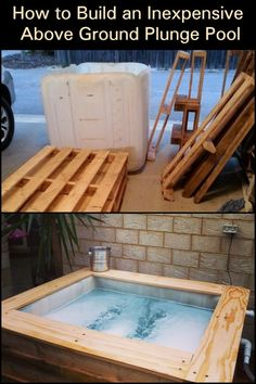 Cool Yourself Down Anytime You Want With This Inexpensive DIY Plunge Pool Turtle Beach, Above Ground Pool, In Ground Pools, Homemade Pools, Pool Hacks, Building A Pool, Inexpensive Home Decor, Diy Home Decor Projects, Decor Ideas