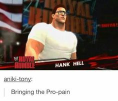 King of the Hill Wrestling Humor