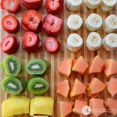 How to Make Fruit Skewers #realtastesgood #clevergirls