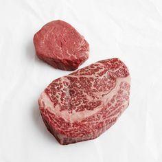 Mishima Ranch Wagyu steaks