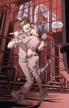 Imagen de harley quinn, joker, and comics Harley Quinn Comic, Joker Dc, Joker And Harley Quinn, Gotham Batman, Comic Book Characters, Comic Books Art, Geeks, Harely Quinn, Detective Comics