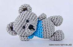 Мишка Сэм - Игрушки крючком