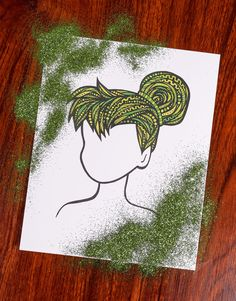 Zentangle - Pixie Dust by ZenspireDesigns on Etsy https://www.etsy.com/listing/237416191/zentangle-pixie-dust