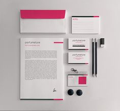 Parfumstore by Cosa Nostra , via Behance