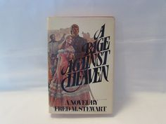 A Rage Against Heaven by Fred M. Stewart http://etagere-antiques.myshopify.com/products/a-rage-against-heaven-by-fred-m-stewart?utm_content=buffer93088&utm_medium=social&utm_source=pinterest.com&utm_campaign=buffer #vintagefiction #gotvintage