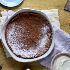 Chocolate Pudding Cake with Orange and Nutmeg | Joy the Baker