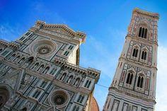 FLORENCE - Catedral de Santa Maria del Fiore e o Campanário de Giotto