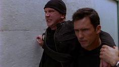"Burn Notice 3x12 ""Noble Causes"" - Michael Westen (Jeffrey Donovan) & Claude (Simon Needham)"