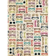 Glasses Wrapping Paper
