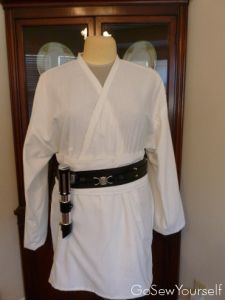 Tunic and Obi, front view