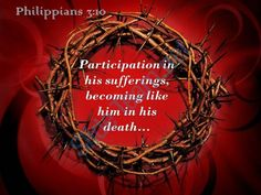 philippians 3 10 participation in his sufferings powerpoint church sermon Slide01  http://www.slideteam.net/