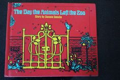 1972 First Edition Hardcover of The Day the Animals by NisseHouse