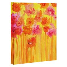 Rosie Brown Waiting For Spring Art Canvas | DENY Designs Home Accessories