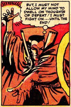 STRANGE TALES #127 (Aug. 1967) Art by Steve Ditko Words by Stan Lee