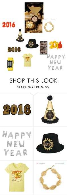 """New Year"" by cynthia-haltom ❤ liked on Polyvore featuring Lucky Star, YooLa and Eos"