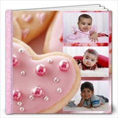 12x12 album by Ivelyn - Photo Book.   Insert your own photos