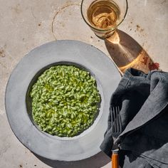 "New York City's Italian mainstay Il Buco has a spring risotto recipe with in-season stinging nettles, which owner Donna Lennard calls a ""gutsier, brighter spinach."""
