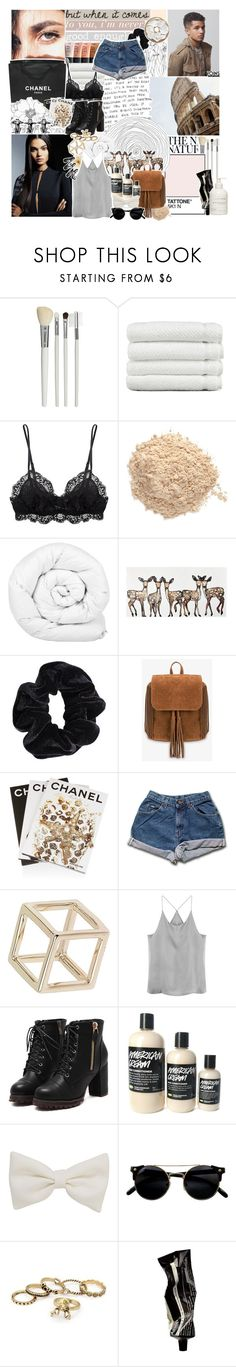 """""""'cause I don't wanna fall in love ; yoins"""" by oreokk22 ❤ liked on Polyvore featuring Cath Kidston, Linum Home Textiles, Eberjey, Le Métier de Beauté, Brinkhaus, WALL, American Apparel, Chanel, Assouline Publishing and Topshop"""