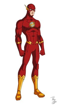 The Flash, a character who is always moving forward. The Flash - New 52 Comic Book Characters, Comic Character, Comic Books Art, Flash Barry Allen, Kid Flash, Heros Comics, Dc Heroes, The Flash New 52, The Flash Art
