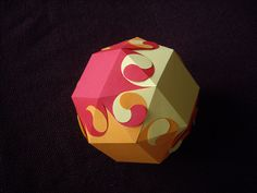 burning snub cube | Flickr - Photo Sharing!