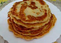 Krumplis palacsinta   Erika receptje - Cookpad receptek Salty Cake, Fruits And Vegetables, Tapas, Pancakes, Paleo, Food And Drink, Cooking Recipes, Diet, Baking