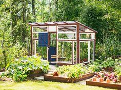 hyötytarha Pergola, Greenhouses, Gardens, Kitchen, Backyard Farming, House, Green Houses, Cooking, Glass House
