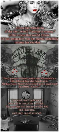 Splintered series by A. G. Howard