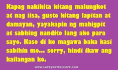 Discover and share Vice Ganda Hugot Tagalog Quotes. Explore our collection of motivational and famous quotes by authors you know and love. Love Quotes For Her, Cute Love Quotes, Love Husband Quotes, Hugot Lines Tagalog Funny, Hugot Quotes Tagalog, Tagalog Love Quotes, Deep Relationship Quotes, Relationships, Secret Crush Quotes