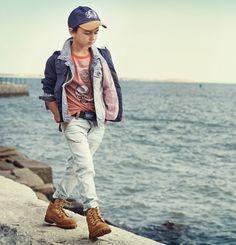 Timberland SS14, moda de verano para chicos http://www.minimoda.es