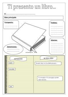 Per la biblioteca di classe scheda di presentazione