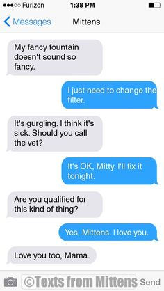 NEW Daily Mittens: The Gurgling Edition More Mittens: http://textsfrommittens.com/ Order Mittens' book: http://amzn.to/1BVvMmB