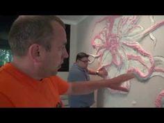 Секрет отделки стен Барельеф , Мастер класс от Алексея Пименова клип - 2 wall relief decoration - YouTube