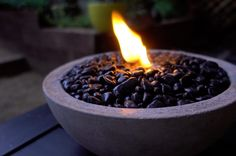 A step-by-step tutorial on how to make a tabletop concrete fire bowl that'll add instant industrial ambience to your garden.