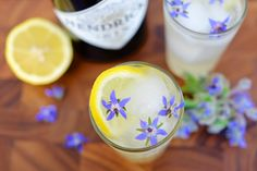 Cocktail Recipe: Borage Fizz