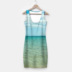 Fully printed simple dresses that fit women of all shapes and sizes! Stylish and comfy - no matter how often you wash it, it won't fade away or loose it's shape.The back of the product is mirrored.All items can be returned within 14 days unless used. No questions asked.Estimated shipping time - 14 days. #dress #fashion #womensfashion #fashionista #beach #sea #summer #ocean #sky #clouds #season