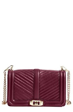 #TCIFAVORITES 47 | TheChicItalian | My favorites of the week - Rebecca Minkoff 'Chevron Quilted Love' Bag