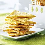 Cheddar Rosemary Crackers