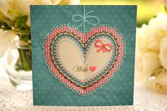 Valentine Love Heart Card