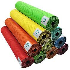 Yogamatte »Suri« / Umweltfreundliche und hypo-allergene TPE-Matte, weich und rutschfest, ideal für alle Yoga-Lehrer und Yogis / Maße: 183 x 61 x 0,5cm / In vielen Farben erhältlich.   Mit den Yoga-Matten von #DoYourYoga erwirbst Du hochwertige Markenprodukte für mehr Spaß bei Deinem Yogasport. Erstklassige Verarbeitung, ansprechende Farben und Designs sowie das strapazierfähige Material machen unsere Yoga-Matten zur ersten Wahl für Yoga-Studios.