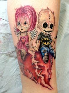Fotos de Tatuagem de Boneco Voodoo | Fotos de Tatuagens