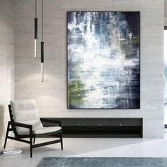 Abstract Acrylic Paintings Textured Wall Art Large Wall image 3 Large Abstract Wall Art, Large Painting, Texture Painting, Office Wall Art, Office Decor, Kids Room Paint, Colorful Artwork, Original Paintings, Acrylic Paintings