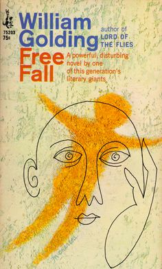 my vintage book collection | Free Fall by William Golding